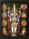 Lord Vishnu with Ashtalakshmi - Frame