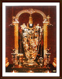 Lord Venkatachalapathy in golden alangaram - Frame