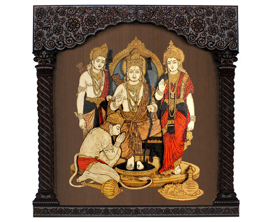 Ram Darbar 3D Photoframe with LED