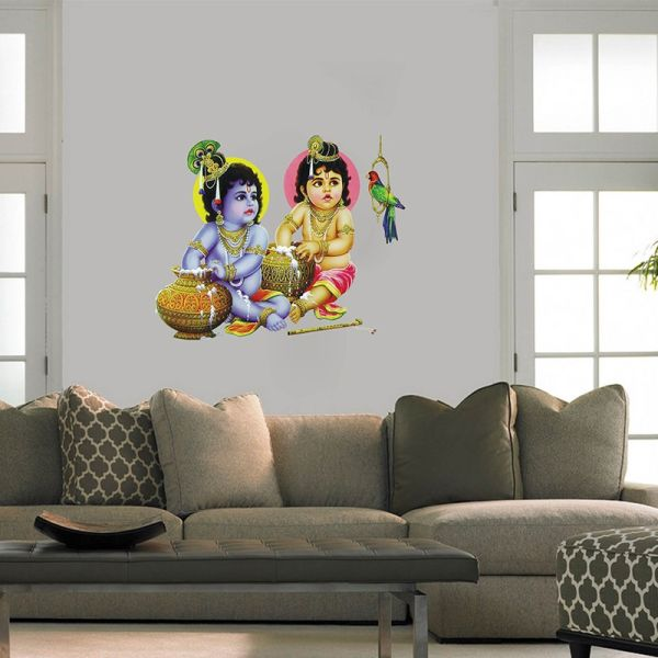 Krishna and Balram - Wall Design