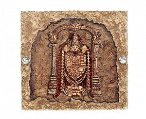 Sri Balaji 2D Stand With Cave Effect And Glass