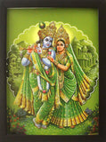 Sri Krishna and Radha - Frame 1