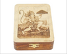 Wooden Box With Hanuman Art