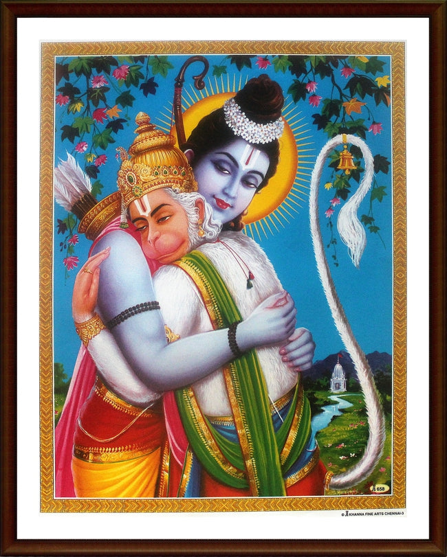 Sri Rama and Sri Anjaneya - Frame