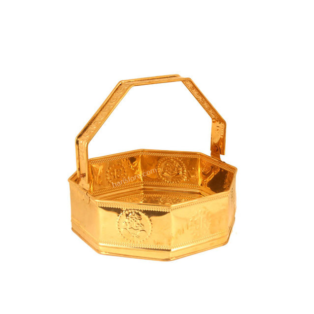 Brass Pooja tray / holder