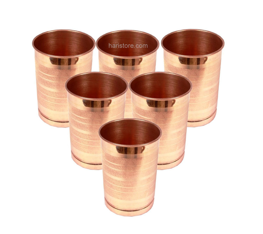 Copper Tumbler Set