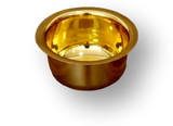 Brass Bowl / pooja item / chandan cup (5 sizes)