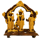 Ram Dharbar Brass with 24K Gold Plated - 3inch