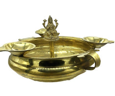 Lakshmi Diya\Villaku \ Uruli Shaped -Brass