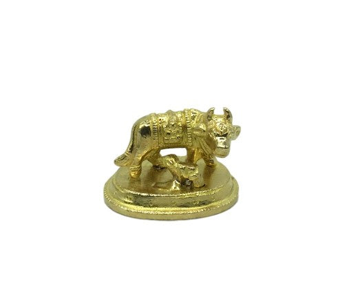 Cow and Calf - Brass