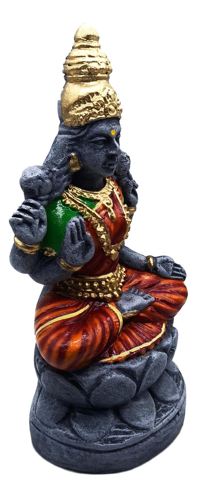 Ashtalakshmi Golu Set / 8 Caly deities/ Soapstone color finish