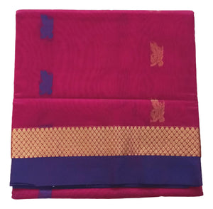 Madisar Saree - Semi Silk Cotton - 3 Color Variant