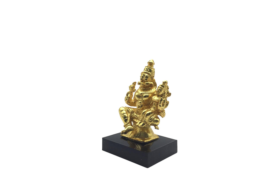 Lakshmi Narasimhar - Small (Gold Plated ) 3 Inches