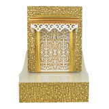 Small Pooja Mantapam / Koil Azhwar - Wooden With Designer Mica Coated For Office/Shop