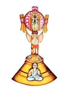 Swami Desikan 750 Special Bell Shaped Wall Hanging - Only 3 left in stock