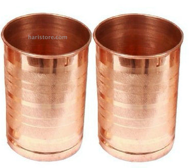 Copper Tumbler (Two Piece)