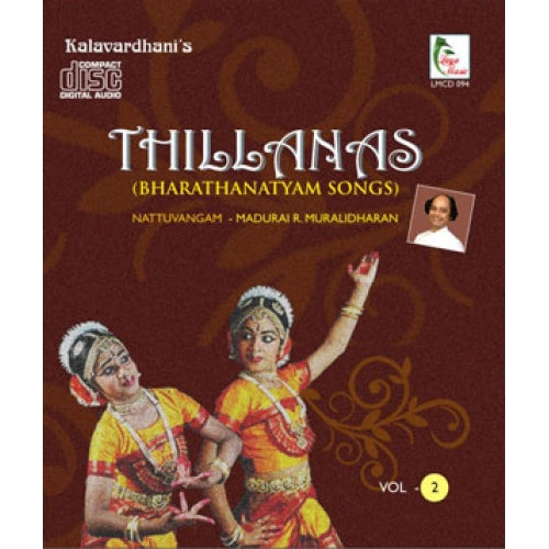 Thillanas Vol - 2 (BHARATHANATYAM SONGS)