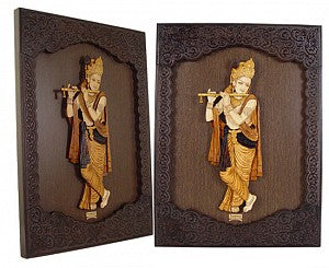 Krishna With Flute 3D Photoframe