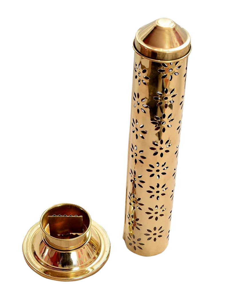 Brass agarbatti stand /pooja item and incense holder