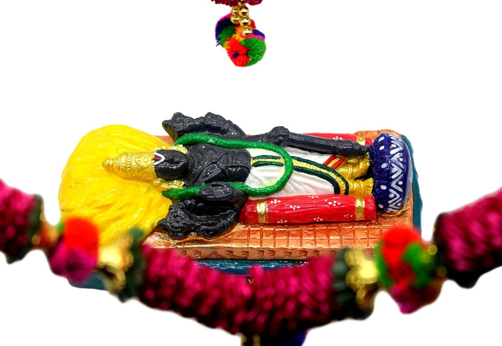 Kanchipuram Athi Varadar - Sayana Thirukolam ( 9 inches)