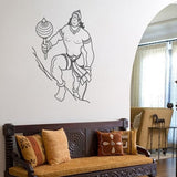 Mighty Hanuman - Wall Design
