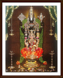 Lord Balaji with Lakshmi - Frame