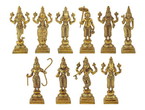 Dasavatharam Set - Brass