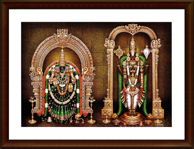 Lord Balaji and Thayar - Frame