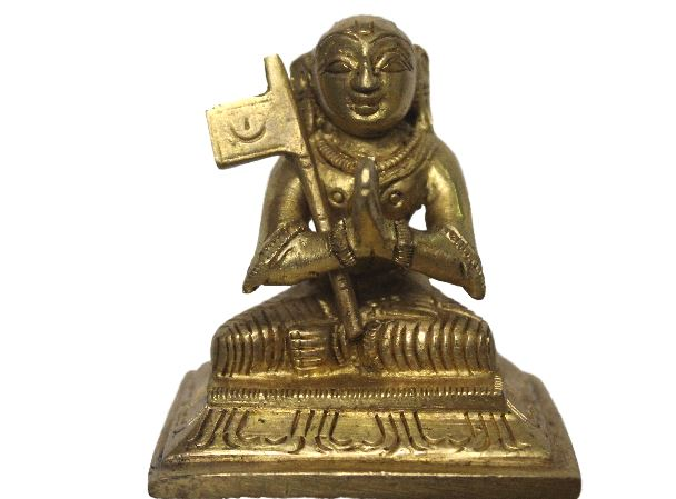 Swami Ramanuja Vigraham (Antique Brass)