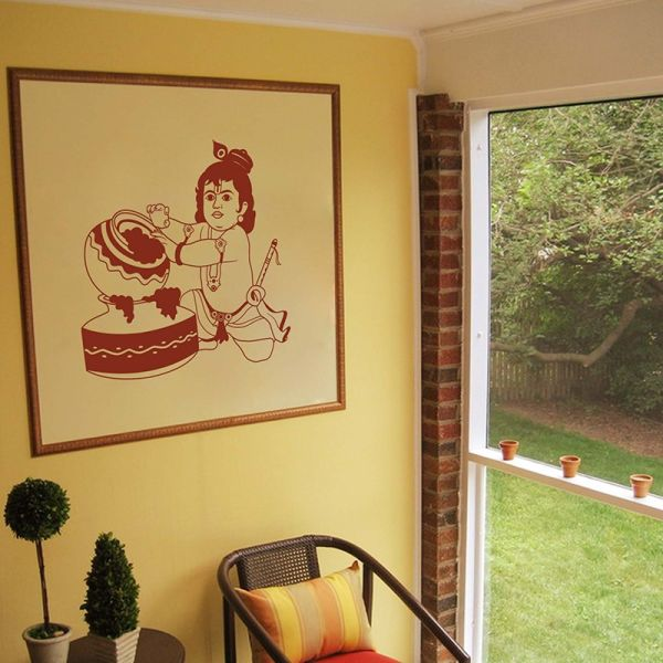 Little Krishna - Wall Design