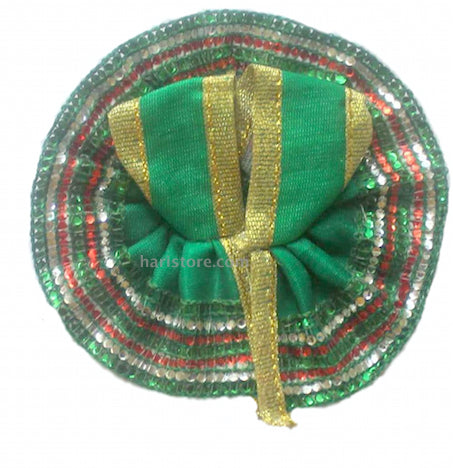 Laddu Gopal Dress - Handmade Handicraft (Green)