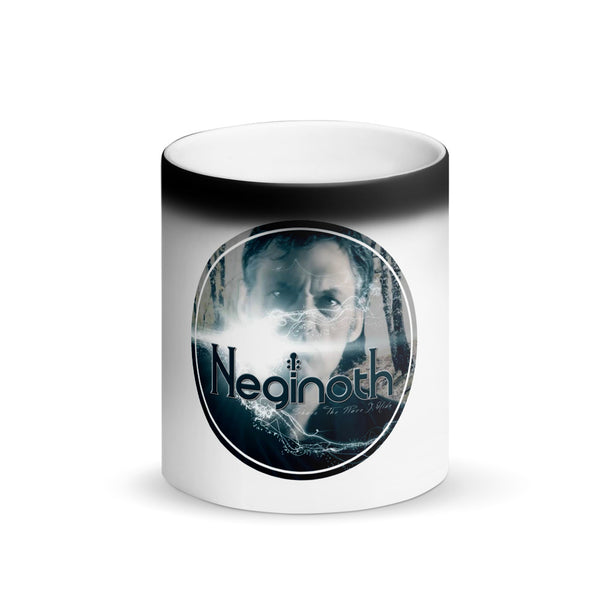 Neginoth Bobby Matte Black Magic Mug
