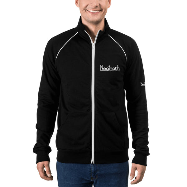 Neginoth Piped Fleece Jacket