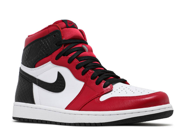 Jordan 1 Retro High Satin Snake Chicago (W)