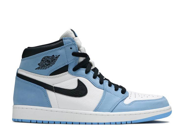 Jordan 1 Retro High White University Blue Black