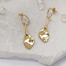 Begin Anew Earrings 14kt Gold Plated - Bardot Boho