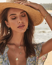 Necklace See the World Gold Necklace - Bardot Boho