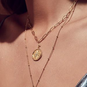 Daydreamer 14K Gold Necklace - Bardot Boho