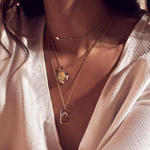 Best Seller! La Luna 14k Gold Necklace - Bardot Boho