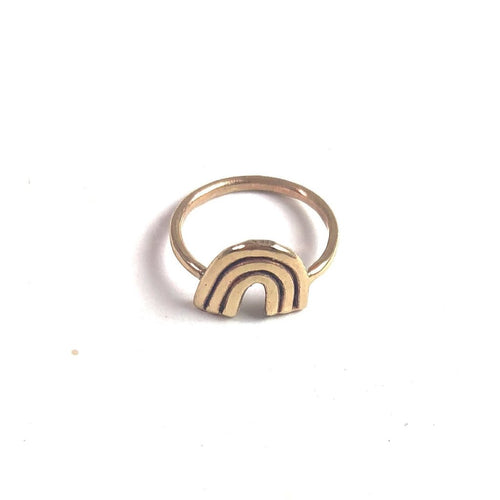 Rings Solid 10k Gold Ring for Mamas & their Littles... - Bardot Boho