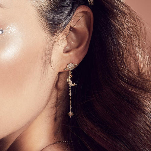 Daydreamer Gold Earrings - Bardot Boho