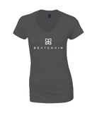 Beatchain Gildan SoftStyle® Ladies V Neck T-Shirt