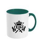 Duke Two Toned Mug