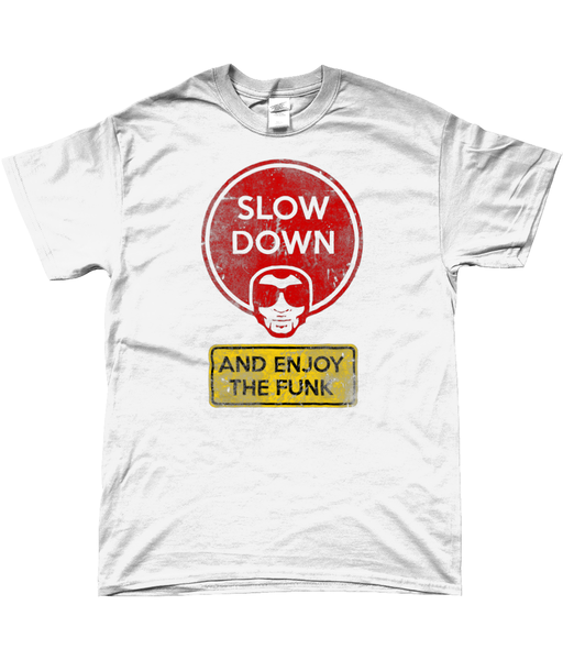 Brother Strut - Slow Down and Enjoy the Funk Men's T-Shirt