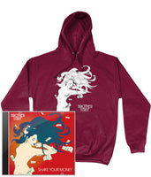 Brother Strut - Shake Your Money CD + Men's Hoodie
