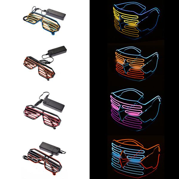Double coloured LED Light Party Glasses