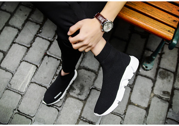 New Fashion Men Running Sneakers lightweight flying