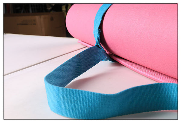 Colourful Adjustable Yoga Mat Belts