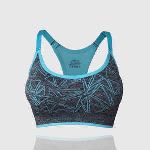 Women Fitness Bra with Adjustable Straps