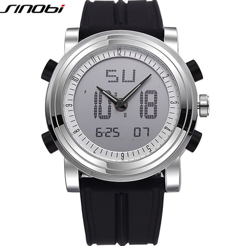 High Quality Digital & Analog Sports Watch Water resistant Men's Wrist Watches